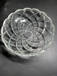 VTG 150MM 6quot; Bobech 8 Nickel Pins Crystal Chandelier Parts 7 8in center Hole $12.50