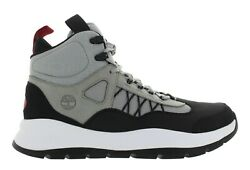 Timberland Men#x27;s BOROUGHS PROYECT Grey Black Hiking Sneakers Multiple Size New $65.99