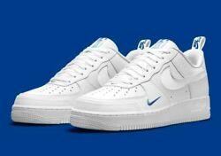 Nike Air Force 1 LV8 Shoes White Game Royal Blue DN4433 100 Men#x27;s Multi Size NEW $149.90