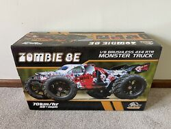 DHK Hobby Zombie 1 8 Scale RC Brushless 4x4 RTR Monster Truck DHK8384 $429.95