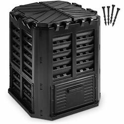 Garden Composter Bin Made from Recycled Plastic – 95 Gallons 360Liter Large C... $87.60