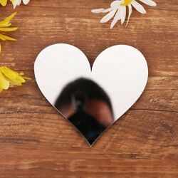 Shaped Mirror Surface Acrylic Wall Stickers Wall Decorations Decal Home Decor $1.48