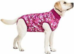 Suitical Recovery Suit Dog medium Pink Camouflage New Free Shipping $14.95