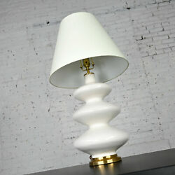 Smith Ivory Table Lamp Brass Detail by Christopher Spitzmiller for Visual Comfor $1295.00