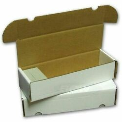 BCW 660 Count Card Storage Box for Standard 20pt Trading Gaming Cards 4 Pack $10.99