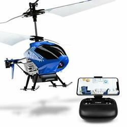 U12S Mini RC Helicopter with Camera Remote Control Helicopter for Kids Blue $66.04