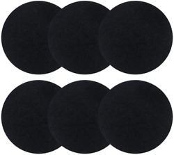 6 Pack Charcoal filters for Kitchen Compost Bins Thickening Compost Bin Filter $14.48