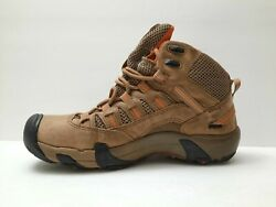 Keen Brown Leather Hiking Women#x27;s Boots Size 9.5 $39.79