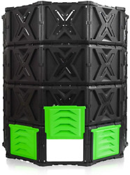 SQUEEZE master XXL Large Compost Bin Outdoor 720L 190 Gallon Easy Assembly No $125.50