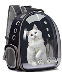 Henkelion Pet Backpack Bubble Carrying Bag Small Dog Up To 10 lb New Without box $25.99