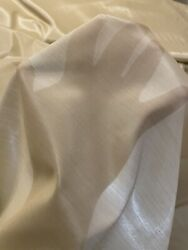 sheer vintage material by the yard $12.99