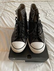 Size 10 Converse Chuck Taylor All Star Winter High GTX Brown barely worn $50.00