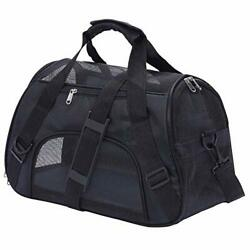 PPOGOO Pet Carriers for Small Cats and Dogs 17x7.5x11 Pet Travel Carrier Airline $18.62