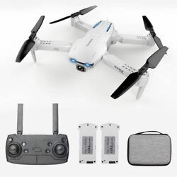 GoolRC S162 RC Drone Camera GPS 4K WIFI FPV RC Quadcopter Toy 2 Battery USA A1M1 $66.62