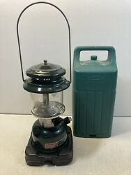 Vintage Coleman 1988 Lantern 288A 700 2 Mantle With Carry Case $45.00