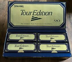 RARE VINTAGE NEW IN BOX Spalding Tour Edition Golf Balls Lot Set FREE SHIPPING $49.99
