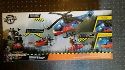 True Heroes Tactical Rescue Unit Patrol Helicopter Toys R Us Set BRAND NEW $69.99