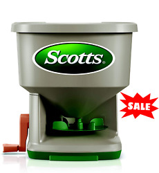 Scotts Whirl Hand Held Spreader Great For Weed Seed Fertilize And Ice Melt NEW $20.98