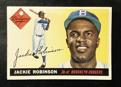 1955 Topps Jackie Robinson #50 EX MT $975.00