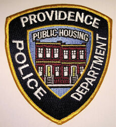 Providence Rhode Island Police Public Housing Patch FREE US SHIPPING $6.00