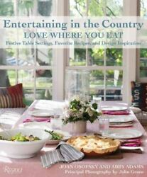 Entertaining in the Country $8.97