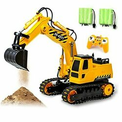 RC Excavator Toy Remote Control Hydraulic Toy Car for 4 5 6 7 8 Year Old $66.63