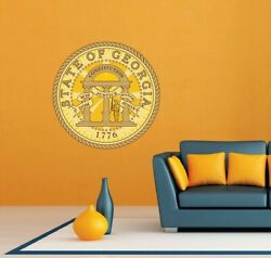 Georgia State Seal USA Wall Room Garage Decor Sticker Decal 22quot;X22quot; $19.99