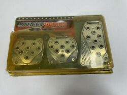 street series power pedals by Alpena silver chrome 151404 $22.00