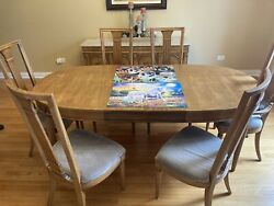Dining room set w 6 chairs and a buffet $220.00