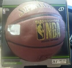 Spalding NBA Basketball NIB elevation mid size 28.5quot; indoor outdoor competitive $18.40