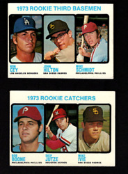 1973 TOPPS STARTER SET 335 660 WITH MIKE SCHMIDT RC AND MAJOR STARS AND HIGHquot;S $295.00