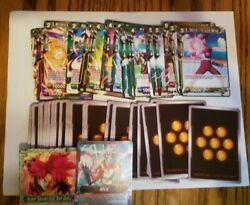LARGE COLLECTION OF DRAGON BALL SUPER CARDS 800 CARDS CCG GAMING CARDS $17.17