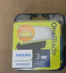 Philips Norelco QP230 80 OneBlade Replacement Blades 3 Count