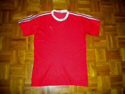 ADIDAS VINTAGE JERSEY Made in West Germany Size M 5 6 $45.00