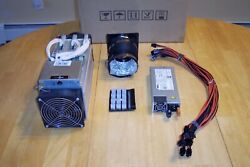Antminer S9 CRYPTO ASIC MINER 13.5 Th s WITH PSU AND EXHAUST $625.00