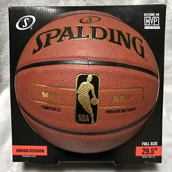 NEW Spalding NBA MAX Grip Premier Play Basketball 29.5quot; Full Size Indoor Outdoor $33.99