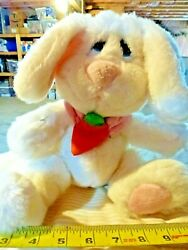 STUFFED ANIMAL PLUSH TOY Cute Baby Bunny with carrot 14quot; $0.99