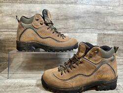 Columbia YM3111 263 Columbia Trail Meister Mid Brown Black Hiking Boots Men 11 $39.99