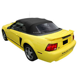 Ford Mustang Convertible Top Replacement & Plastic Window 1994-2004 Black  $189.00