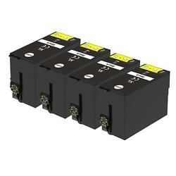4 XL Black Ink Cartridges non-OEM to replace T1301 Compatible for Printers $12.23