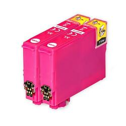 2 XL Magenta Ink Cartridges non-OEM to replace T1303 Compatible for Printers $6.89