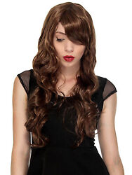 Halloween Costume Women#x27;s Long Curl Curly Wavy Cosplay Party Hair Wigs Full Wigs $6.99