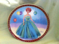 Danbury Mint High Fashion Barbie Plates Barbie Danbury Mint Plate