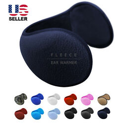Ear Muffs Fleece Earwarmer Winter Ear warmers Mens Womens Behind the Head Design