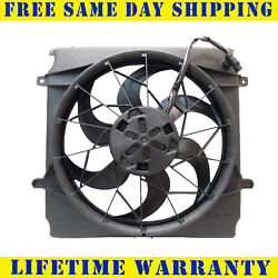 Radiator And Condenser Fan For Jeep Liberty  CH3117101