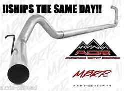 MBRP 4quot; Straight Pipe Exhaust For 2003 2007 Ford F 250 F 350 6.0L Powerstroke $299.99