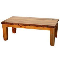 Western Queen Bed Bench - Country Rustic Cabin Log Wood Bedroom Furniture Decor
