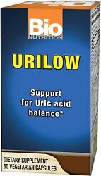 Bio Nutrition Urilow Formerly Known as Gout Out Same Ingredients 60 Caps $14.40