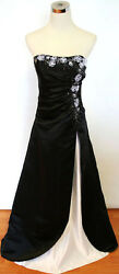 Jump Apparel $200 Black Formal Evening Party Gown 3 4