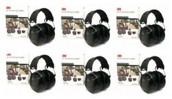 (6) PELTOR WORKTUNES PRO AM FM MP3 Radio HEADPHONES Hearing PROTECTION Ear Muffs